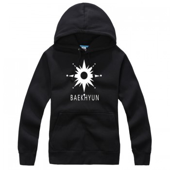 EXO-K BAEKHYUN New Fashion Special Sweater Pullover Hoodie Mixed