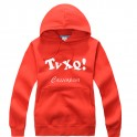 TVXQ Red Flag New Fashion Special Sweater Pullover Hoodie Mixed