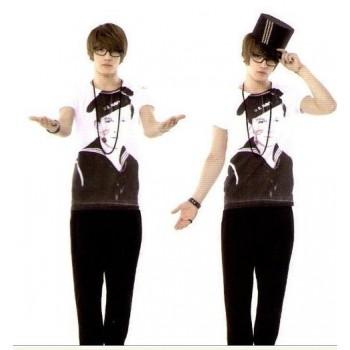 TVXQ Jaejoong Navy New Fashion Special T-shirt