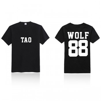 EXO XOXO 88 WOLF T-shirt New Fashion Special T-shirt
