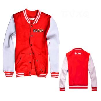 TVXQ New Fashion Special Baseball Uniform Shirt Mixed