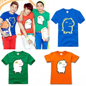 JYJ Kim Jaejoong Chubby New Fashion Special T-shirt