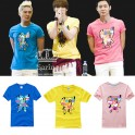 JYJ JaeJoong YuChun JunSu New Fashion Special T-shirt