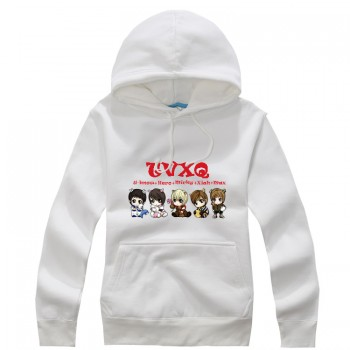 TVXQ Q version New Fashion Special Sweater Pullover Hoodie Mixed