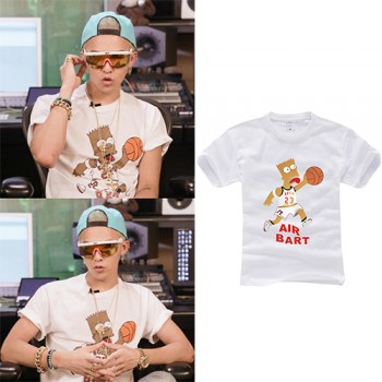 BIGBANG GD G-Dragon The Simpsons T-shirt Wholesale