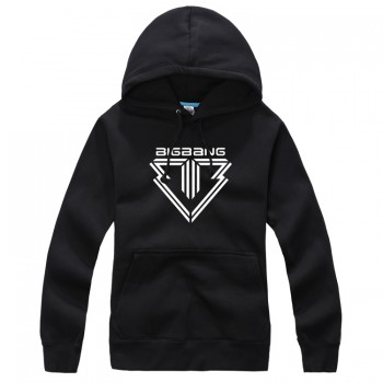 BIGBANG Series 5 Black New Fashion Special Sweater Pullover Hoodie Mixed