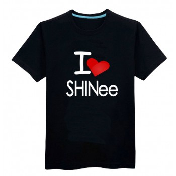 Shinee I love shinee shirt short sleeve
