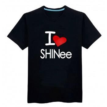Shinee I love shinee shirt short sleeve