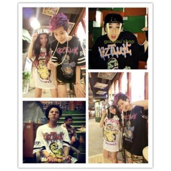 Bigbang G-Dragon Zombie Printed T-Shirt Free Size