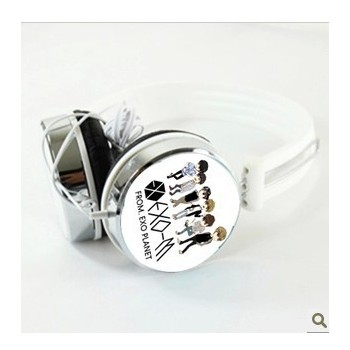 EXO-M Chibi Popular Earphone / Headphone For MP3 / MP4/Computer / Mobile