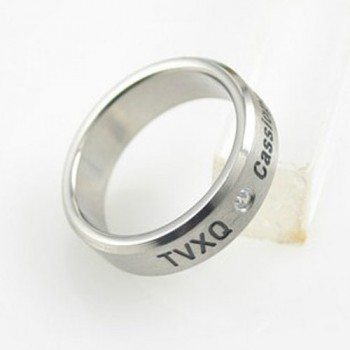 DBSK TVXQ STAINLESS STEEL RING