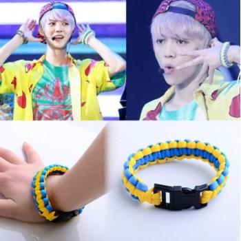 SM EXO knitted bracelet luhan same style 21cm long