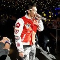 Big Bang GD TOP TAIWAN LIVE COAT JACKET concert baseball uniform hoodie
