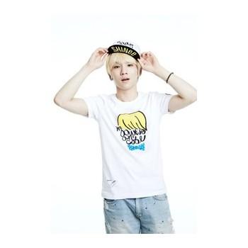 SHINEE Key white t-shirt