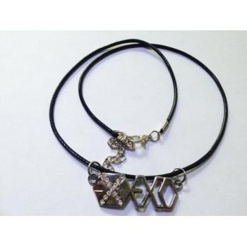 EXO logo necklace