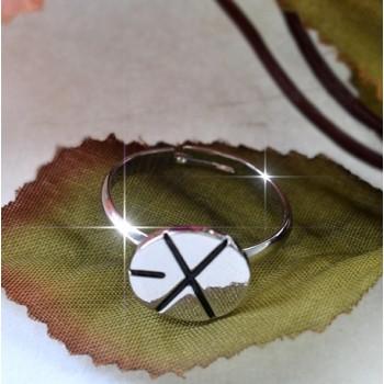 EXO XOXO WOLF ALLOY RING