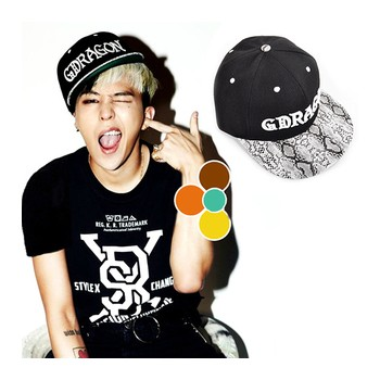 Big Bang GD cap hat of street dance Sun hat baseball cap