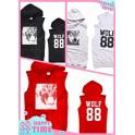 EXO wolf 88 Hoodie fleeces coat Hoody Star Style