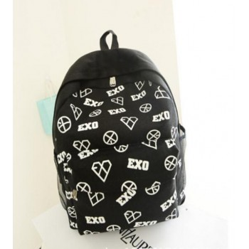 EXO CANVAS SCHOOL BAG BACKPACK