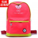 exo neon preppy style backpack