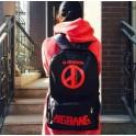 Bigbang BB G-Dragon GD TOP TAEYANG alive ture red black coup detat school bag