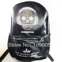 bigbang big bang GD G D G-dragon Gdragon black skeleton backpack school bag
