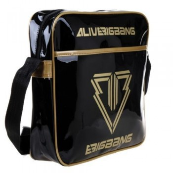 BIGBANG G-Dragon Bigbang Black Shoulder Bag