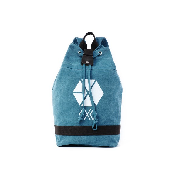 EXO Blue drawstring bag School Bag - KPOP-GIRL