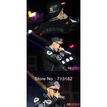 Bigbang GD G-dragon Live Black GIYONGCHY Snapback basketball hats