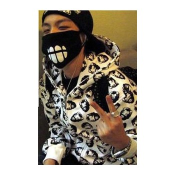 Bigbang Facial Mouth Masks VIP Tooth Korea Cool Mask GD G-dragon same style masks