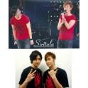 TVXQ Diamond rhinestones live tour tone t-shirt clothes