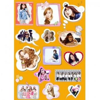 Girls Generation SNSD Waterproof Sticker