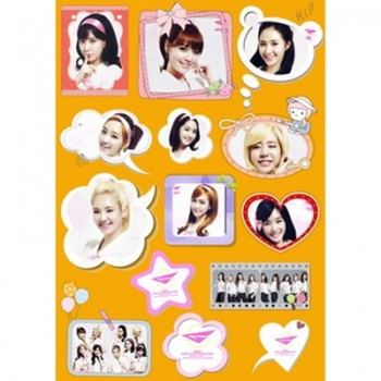 Girls Generation SNSD Waterproof Sticker Ver 2