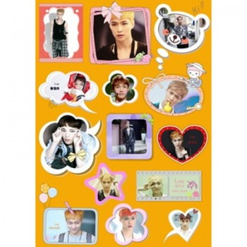 EXO Lay Waterproof Sticker