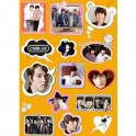 CN Blue Waterproof Sticker