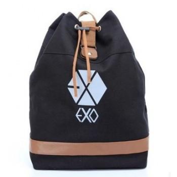 EXO (EXO-K EXO-M)drawstring bag School Bag