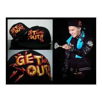BIGBANG GD G-Dragon GET OUT Letter Snapback