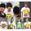 TVXQ Jaejoong Super Junior Siwon Yesung Smiley New Fashion Special T-shirt