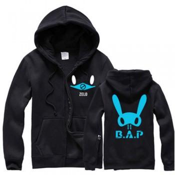 B.a.p sweatshirt zelo sweatshirt zipper
