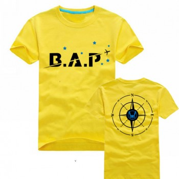 B.A.P Mini Air Plane Logo Short Sleeve T-Shirt