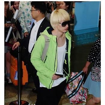 new arrival super junior fleece cotton-padded neon color outerwear