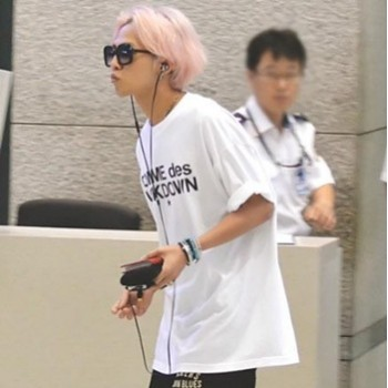 KPOP BIGBANG G-Dragon TEXT Version New Fashion Specoal T-shirt
