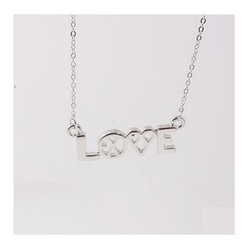 EXO K M Love Pendant Necklace