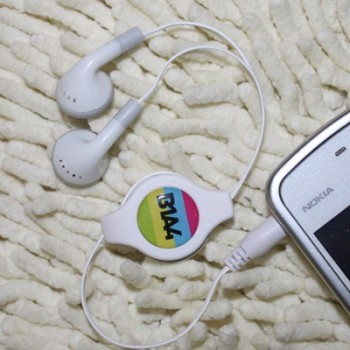 KPOP B1A4 stereo earphone headset for mobile phone/cellphone /MP3/ MP4 /computer