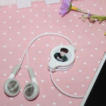 New exo kai head portrait earphone headset