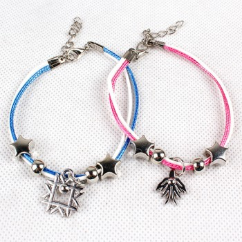 KPOP EXO Member logo adjustable fashion pendants charm couple bracelets EXO Combination jewelry boy&girl bracelets