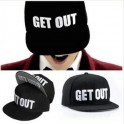 get out Snapback cap Hip hop Baseball Cap Snapback GD Get out Snapback G-Dragon CAP