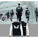 KPOP NEW HOT INFINITE BACK Nice Popular Baseball Uniform
