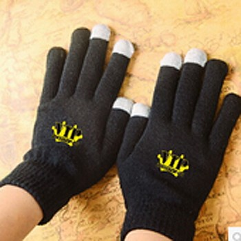 KPOP BIGBANG VIP Touch Screen Stretchy Soft Warm Winter Gloves For Mobile Phone