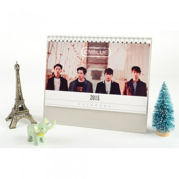 2015 CNBLUE Table Calendar With Exquisite Pictures 20.5*14cm Horizontal Version